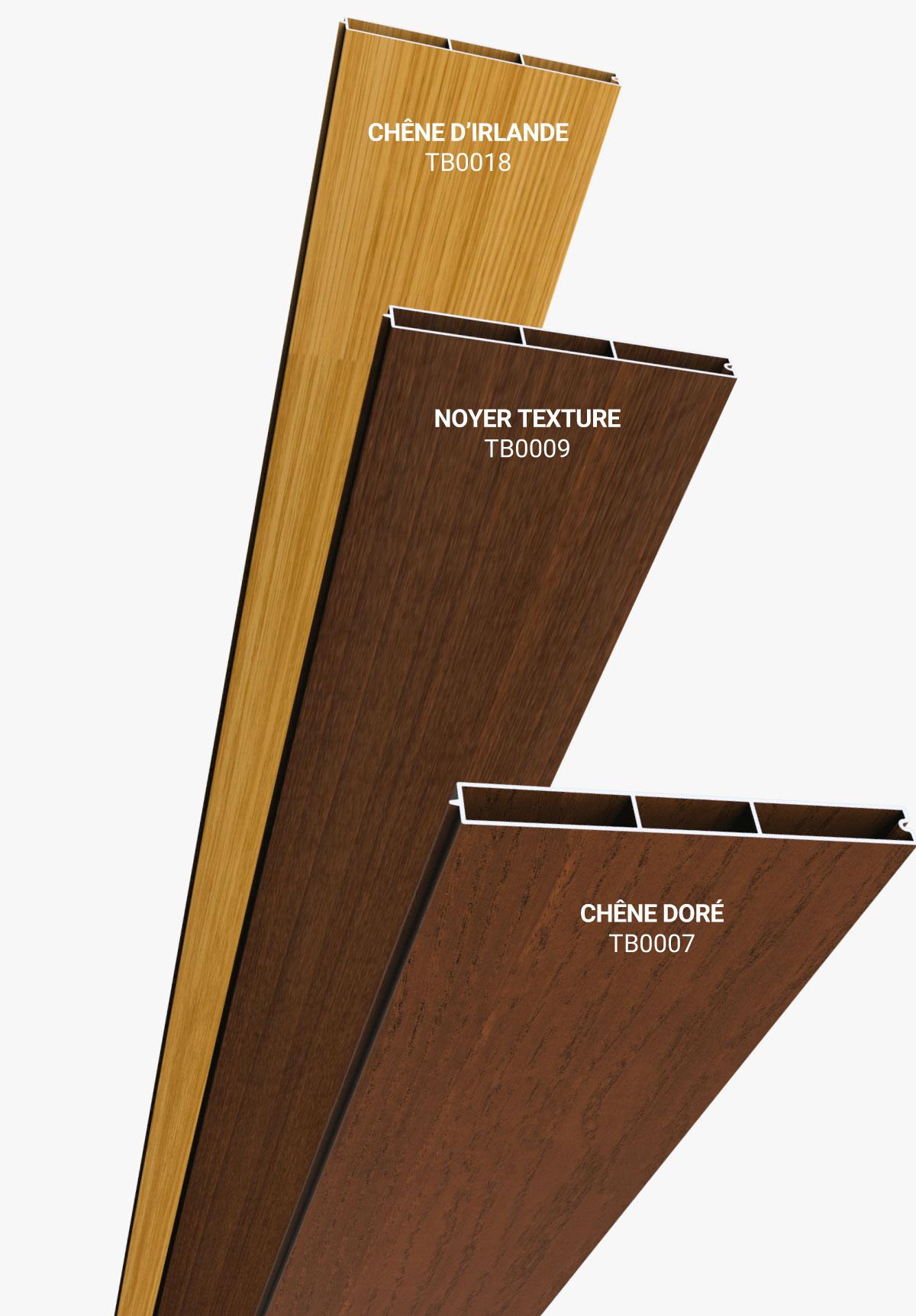 Habillage effet bois pour un design unique