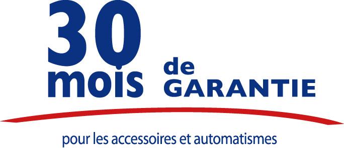 Nous garantissons les accessoires de nos portails