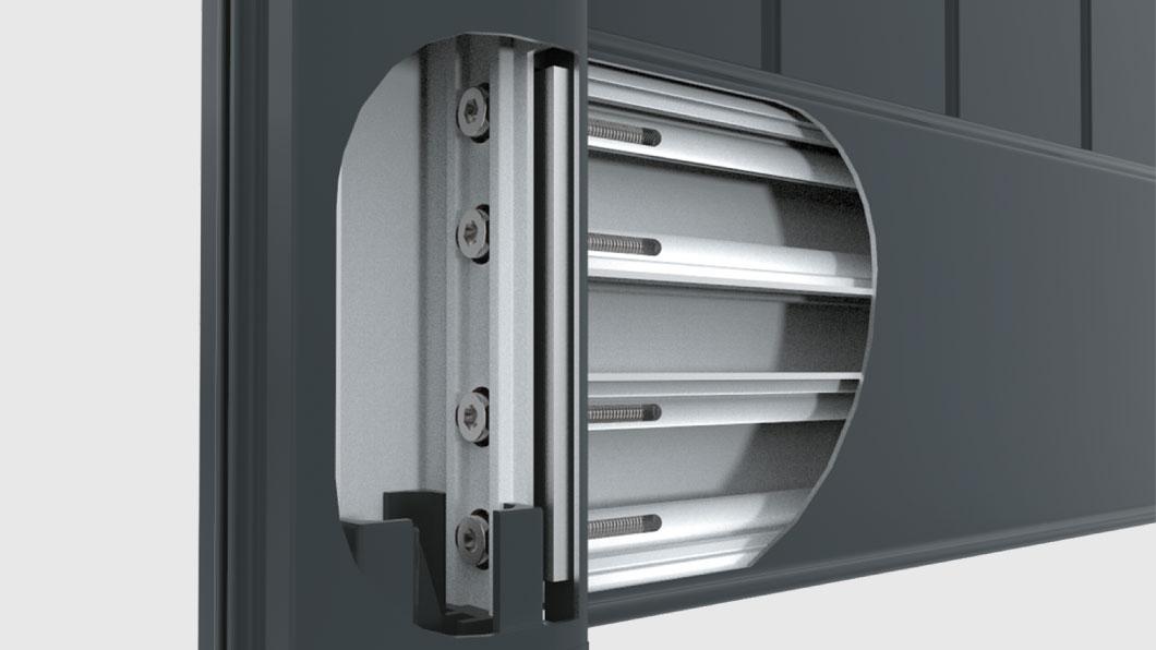 Portails très résistant grâce à nos lames aluminium
