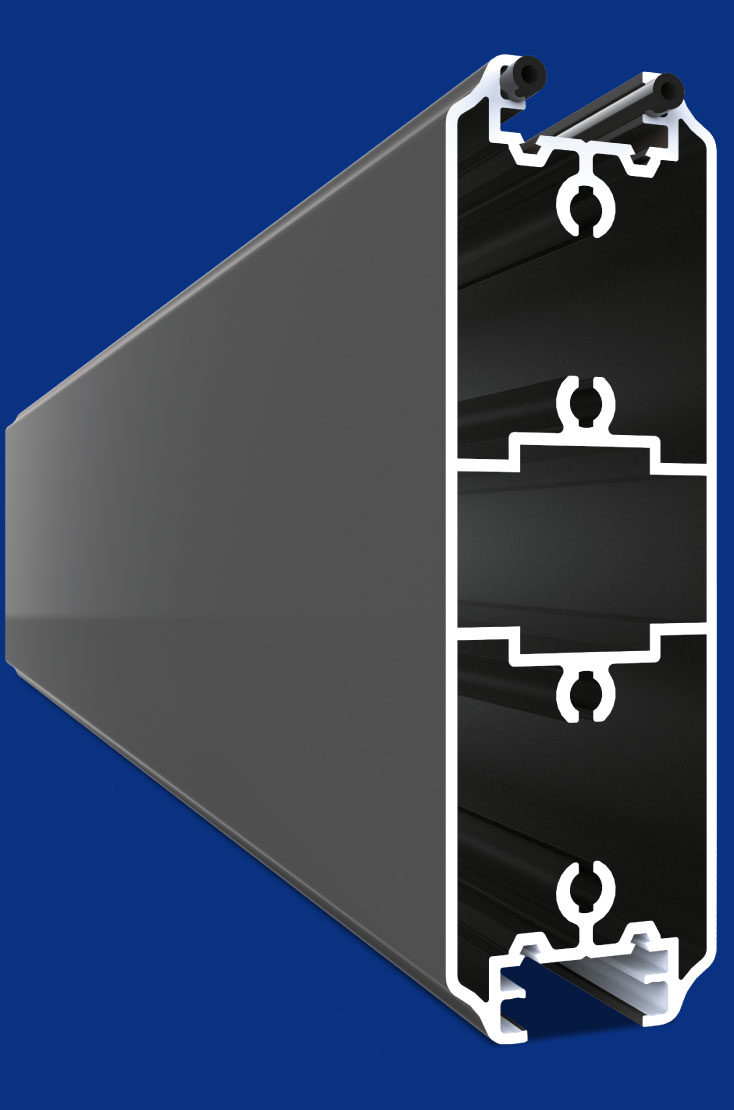 Les profils des portails aluminium sont les plus robustes